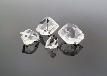 Loose, Natural Herkimer Diamonds Available from Geralyn Sheridan Designs