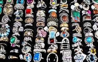 Assortment of Manufactured Fashion Jewelry Rings; Photo by Charisse Kenion on Unsplash