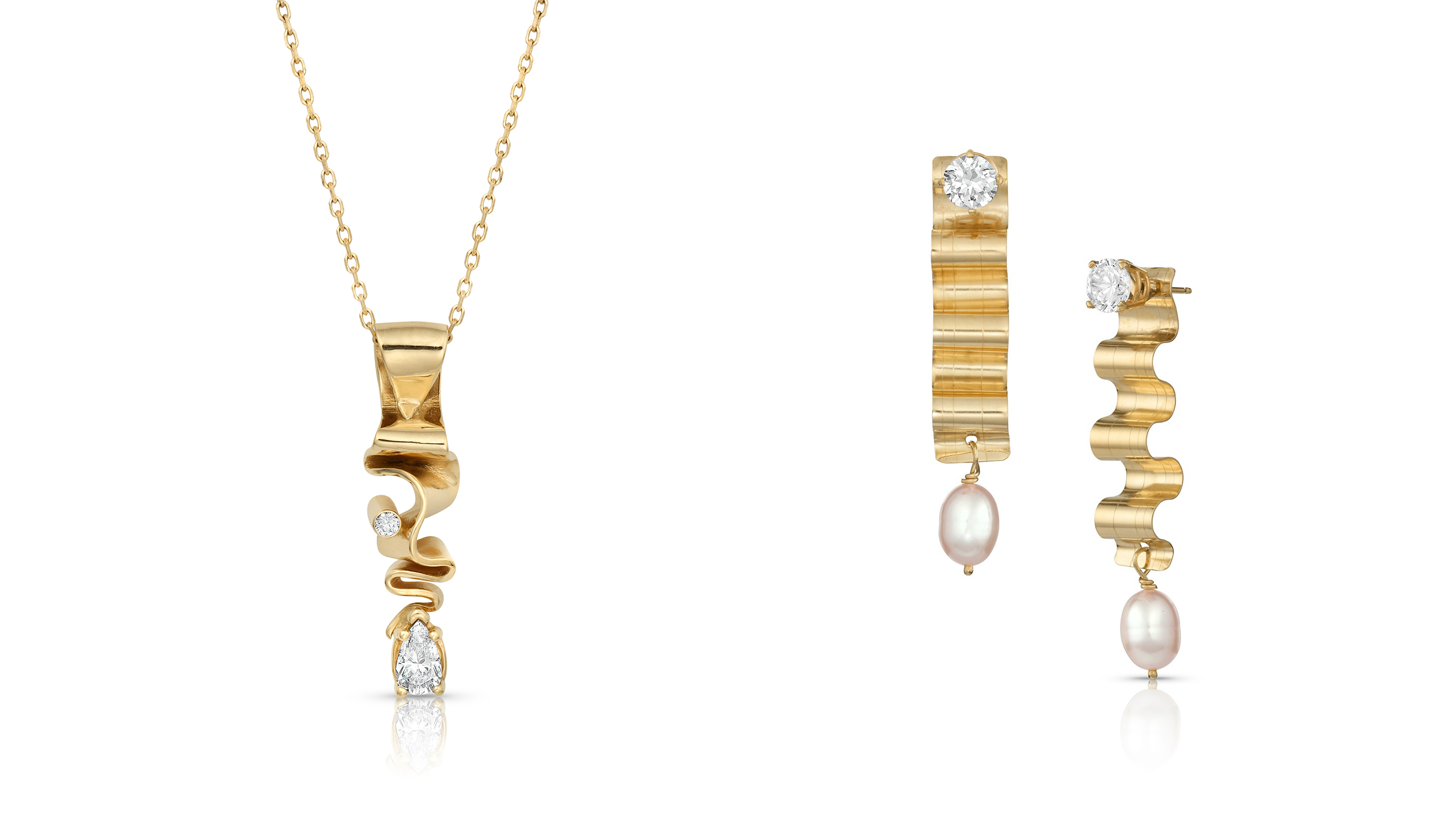 JCK 2021 Design Awards Winners: 2nd Place in Diamonds Do Good and 2nd Place in Zoom Worthy Earrings